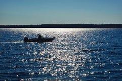 Lago Michigan del peschereccio Fotografia Stock
