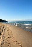 Lago Michigan S.U.A. Fotografia Stock Libera da Diritti