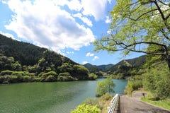 Lago Midori in Aichi, Giappone immagine stock libera da diritti