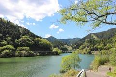 Lago Midori en Aichi, Japón Imagen de archivo libre de regalías
