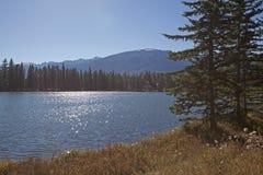 Lago Mildred con el jaspe del fairmont fotografía de archivo libre de regalías