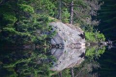 Lago Millinocket, Millinocket, Maine Imágenes de archivo libres de regalías
