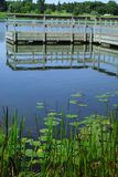 Lago minnesota Imágenes de archivo libres de regalías