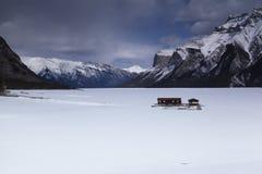 Lago Minniwonka Imagens de Stock