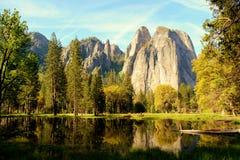 Lago mirror fotografie stock