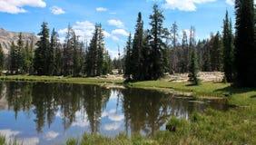 Lago mirror dell'Utah Fotografia Stock