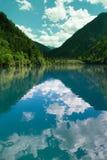 Lago mirror no vale de Jiuzhai Foto de Stock