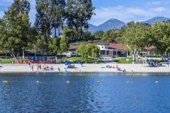 Lago Mission Viejo Immagine Stock