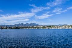 Lago Mission Viejo Foto de archivo