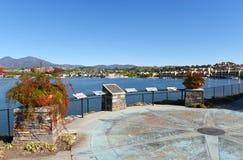 Lago Mission Viejo en el Condado de Orange Imagen de archivo libre de regalías