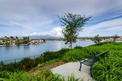 Lago Mission Viejo - Mission Viejo, Califórnia Foto de Stock
