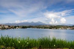 Lago Mission Viejo - Mission Viejo, Califórnia Imagem de Stock Royalty Free