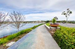 Lago Mission Viejo - Mission Viejo, Califórnia Fotografia de Stock Royalty Free