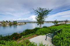 Lago Mission Viejo - Mission Viejo, California Fotografia Stock