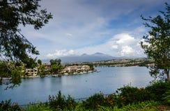 Lago Mission Viejo - Mission Viejo, California Fotografía de archivo