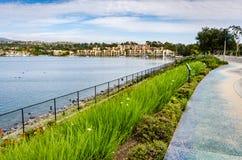 Lago Mission Viejo - Mission Viejo, California Immagine Stock Libera da Diritti
