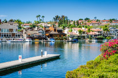 Lago Mission Viejo - Mission Viejo, California Immagini Stock
