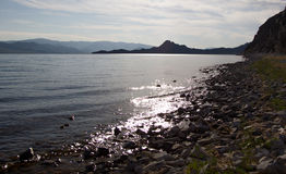 Lago misterioso Fotografia Stock