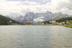Lago Misurina Fotografie Stock Libere da Diritti