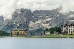 Lago Misurina Royalty Free Stock Photography