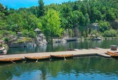 Lago Mohonk Fotografia Stock Libera da Diritti