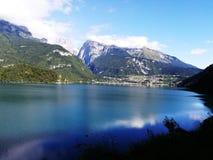 Lago Molveno Стоковое Изображение