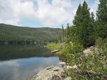 Lago monarch em Colorado fotografia de stock royalty free