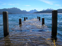Lago & montagne Immagine Stock