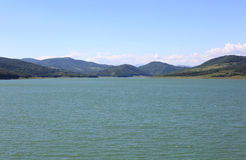 Lago montagnoso Immagine Stock