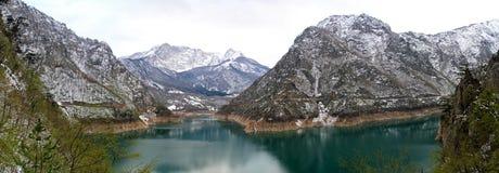 Lago Montenegro Pivsko Fotos de Stock Royalty Free