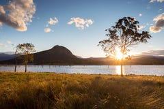 Lago Moogerah Australia foto de archivo libre de regalías