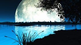 Lago moon Imagen de archivo