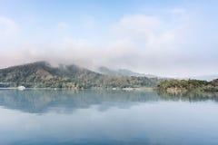 Lago moon di Sun Immagini Stock