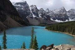 Lago moraine Fotos de Stock Royalty Free