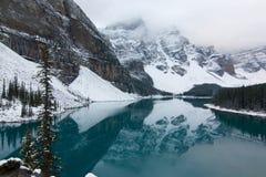 Lago moraine Fotografia Stock Libera da Diritti