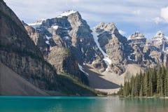 Lago moraine Fotografia de Stock Royalty Free