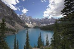 Lago moraine Foto de archivo