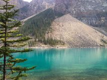 Lago moraine Immagine Stock Libera da Diritti