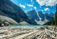 Lago moraine Imagem de Stock Royalty Free