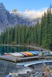 Lago moraine Fotografie Stock Libere da Diritti