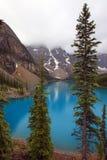Lago moraine imagens de stock royalty free