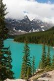 Lago moraine - imagem conservada em estoque Foto de Stock