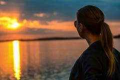 Lago Morii Foto de archivo