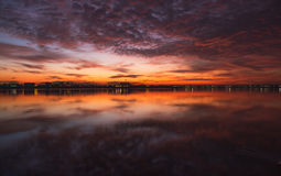 Lago Morii Fotografia de Stock