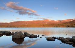 Lago Morlich Imagenes de archivo