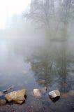 Lago morning Imágenes de archivo libres de regalías