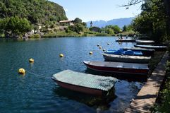 Lago Moro στοκ εικόνες