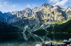 Lago Morskie Oko Fotografie Stock