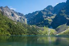 Lago Morskie Oko Fotografía de archivo