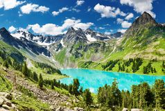 Lago mountain Foto de Stock Royalty Free